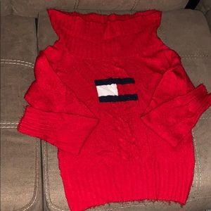 Tommy jeans EST. 1985 vintage sweater/crop top